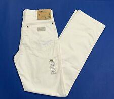 WRANGLER Texas Stretch Jeans da Uomo Chino stile morbido tessuto Vintage Beige Cachi