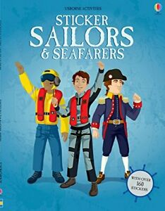Usborne Activities Sticker Sailors and Seafarers (Paperback)  FREE shipping $35