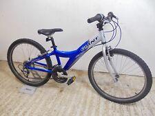 """Giant MTX 250 24"""" Hybrid Mountain Bike Boys Kids 12"""" Alloy Age 9-11 Used GC"""