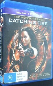 The Hunger Games - Catching Fire - Blu-Ray - Very Good Condition - Free Post