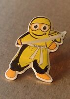 Yellow Sensei Safety Ninja Amazon Peccy Collector soft Enamel Pin Exclusive!!