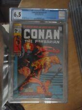 conan the barbarain 6 cgc 6.5.rare non distributed in the uk