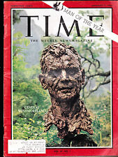 Time Magazine MAN OF THE YEAR General Westmoreland January 7 1966