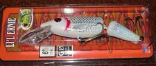 "6"" Jointed Little Ernie Musky Mania Pike Crankbait Holoform Superman JLE-923"