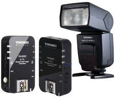YN-622C Wireless E-TTL trigger transceiver + YN568EXII Flash Speedlite for Canon