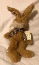 "Russ Berrie Raffi Bunny Plush Stuffed Animal 15"" Brown Rabbit ~ Easter"