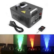900W Smoke Geyser Fog Machine RGB LED Stage Light Remote DMX Party Wedding Stage
