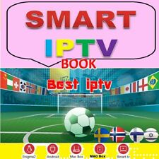 12 MONTH Book IPTV SUBSCRIPTION SUPER FULL HD CHANNELS SMART TV MAG ANDROID BOX