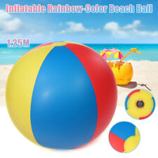 Inflatable Rainbow-Color Ball Pool Beach Grass Kid Children Water Toy Gift