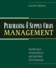 Purchasing and Supply Chain Management by Robert M. Monczka, James L. Patterson…