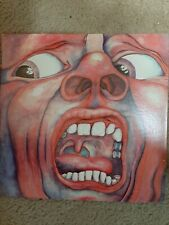"King Crimson ""In The Court Of THe Crimson King"" LP VG+/NM  SD19155 Prog Psych"
