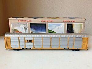 Walthers #932-4809 HO Built 89' Enclosed Auto Carrier - CSX #941620 w/box - EC