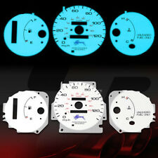 INDIGLO GLOW GAUGE+HARNESS EL COVER FOR 96-00 HONDA CIVIC CX/DX/LX AUTO D16Y7
