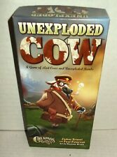 CARD WAR GAMES Cheapass Games Unexploded Cow Mad Cows & Unexploded Bombs op 2001