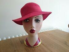 1930s/1940s Red felt hat