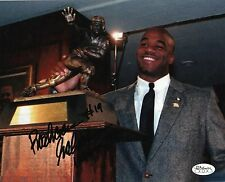 Colorado Buffalo RASHAAN SALAAM autograph signed Heisman Trophy Insrip 8x10 JSA