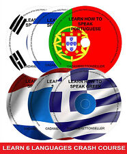 Learn how to speak Portuguese Greek Thai Dutch Hebrew Korean Multi Collection
