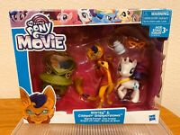 Hasbro My Little Pony The Movie Rarity & Capper Dapperpaws Styling Friends NIP