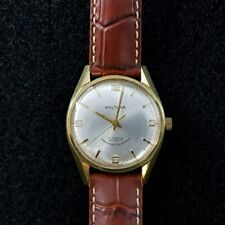 VINTAGE WALTHAM MANUAL WATCH WITH LEATHER BAND #200058