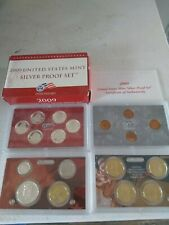 2009 US Mint Silver  Proof set 90% Territories Quarters Kennedy - (OGP) 18 coins