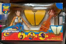 Disney PIXAR Toy Story 2 Movin' Morphers Woody Morphs Into A Western Wagon