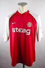 Rot Weiß Essen Trikot Gr. XL 2005-06 Nike Jersey Shirt rot Steag RWE RW