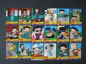 EEK & BOBBY'S WORLD CARDS You Pick Fox Kids Network Complete your Set 1995 Fleer
