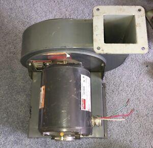 "Dayton 1/3 HP Power Tool Motor 3450RPM 115V With Dayton Blower 2C940 7 3/4"""
