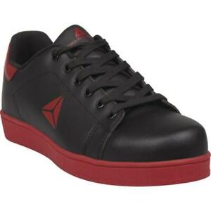 Size UK 5 EU 38 Delta Plus SMASH S1P HRO Black Red Safety Work Trainers Shoes