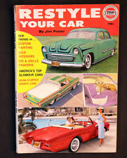Vintage Restyle Your Car Jim Potter 1961 Custom Painting Wild Interiors