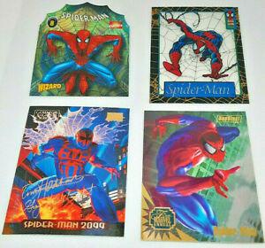 1992 - 1993 Marvel Topps Marvel Metal - Spiderman LOT of 17 RARE see description