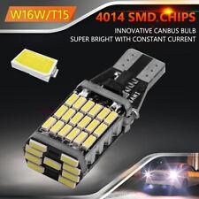 T15 W16W LED Bombilla de reversa para Automóvil CANBUS 4014 45 SMD 12V Lámpara de Señal de Vuelta