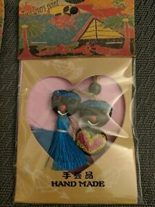 Guam Souvenir Two Lovers Point Hand Made Cell Phone Strap