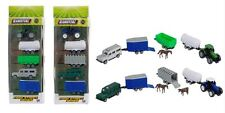 Teamsterz Farm Collection Tractor Trailer Land Rover Car Milk Tanker Vehicle Boy