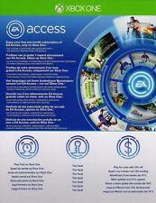 Accesso ea-XBOX ONE - 1 Mese Abbonamento chiave origine adesione CODICE NUOVO