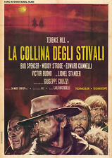 BOOT HILL Movie POSTER 27x40 Terence Hill Bud Spencer Lionel Stander Woody