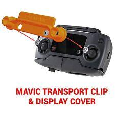 DJI MAVIC PRO - Screen Cover & Transport Clip Controller ORANGE USA seller