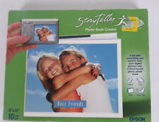 "Epson StoryTeller PHOTO BOOK Creator Kit, 8""x10"" Books Scrapbook - NEW"