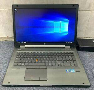 HP EliteBook Laptop 8770w, 2.6GHz i7, 8GB RAM, 800GB HDD, WIN 10 *Faulty Battery