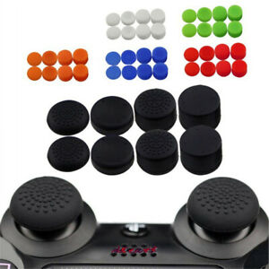 8Pcs Silicone Thumb Stick Grip Cover Caps For PS4 & Xbox One Controller Joystick