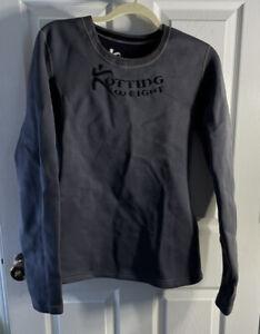 Kutting Weight Sauna Suit Weight Loss Neoprene Long-Sleeve Gray Workout Shirt L