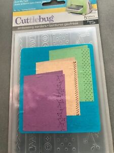 Just my Type  - Embossing Borders - Cuttlebug - Provo Craft