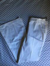 Tahari Dress Pants, Roxanne Pants, Size 8, White, NWT