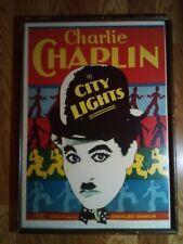 Vintage Charlie Chaplin City Lights M056 Litho Poster by Portal Publications Ltd