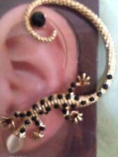 USA Gekko Lizard Earring Ear Cuff Wrap Stud Dragon Boho Bohemian Brides Maid Fun