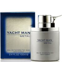 YACHT MAN METAL by Myrurgia cologne EDT 3.3 / 3.4 oz New in Box