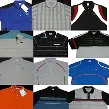 Any 3 pcs Lacoste Sports Mens Men's Polo Shirt Any Size 4 5 6 7 8 9 S M L XL XXL