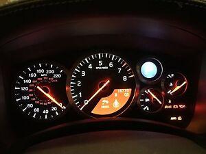 Nissan GTR LED CLUSTER UPGRADE R35 2009-2011 Speedometer Odometer Oem CBA to DBA