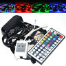 3528 5m RGB 300 LED SMD Flexible Light Strip Lamp+44 Key IR+12V 2A Power Supply