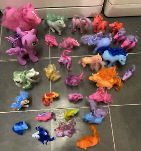 30 Toy Pony's And Unicorn Bundle